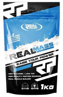 Гейнер Real Pharm Real Mass (1000 г)
