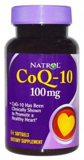 Natrol Co Q-10 100 мг (45 кап)