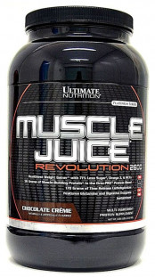 Гейнер Ultimate Nutrition Muscle Juice Revolution 4,69 lb (2000 г)
