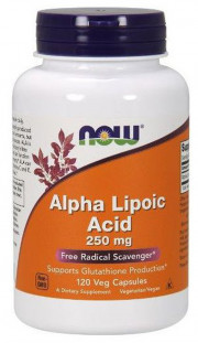 NOW Alpha Lipoic Acid 250 мг (120 кап)
