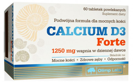 Olimp Labs Calcium D3 Forte (60 таб)