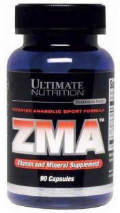 Ultimate Nutrition ZMA (Patented) (90 кап)