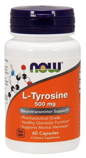 NOW L-Tyrosine 500 мг (60 кап)