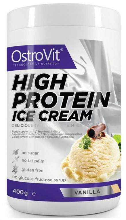 Ostrovit High Protein Ice Cream (400 гр)