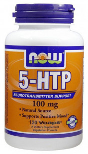 NOW 5-HTP (100 мг) 120 кап
